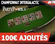 Tournoi Spaceship 100€ sur Bwin