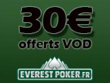 Profitez de 30€ offerts en VOD sur Everest