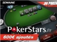 Semaine spéciale SCOOP de PokerStars.fr - 600€ de tickets ajoutés
