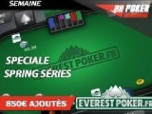 Semaine Everest spéciale Spring Séries - 850€ ajoutés