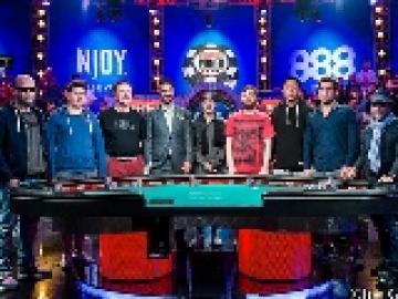 Main Event WSOP 2015: Les November Nine de la table finale