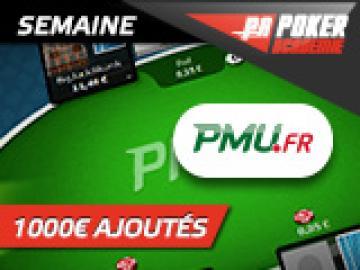 Semaine PMU spéciale FPC VI - 1000€ ajoutés pour les académiciens