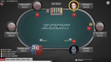 Zugzwang joue pour vous en micro limit (NL25) !
