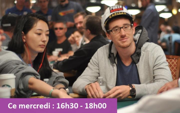 Captain Poker à 16h30 sur Twitch