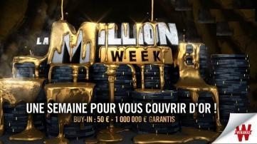 La Million Week revient sur Winamax à partir du 04 février