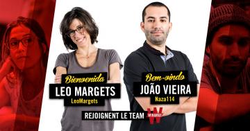 A la conquête du .Eu : Leo Margets et Joao Vieira signent chez Winamax