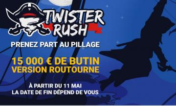 Retour des Twister Rush sur Betclic : 15.000€ à gagner en mai