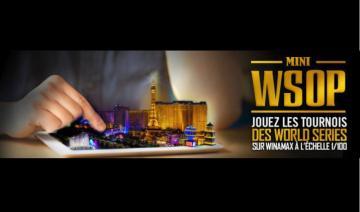 Les Mini WSOP sont de retour sur Winamax !