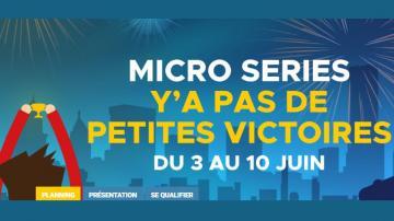 Micro Series : 100.000€ garantis sur Betclic en juin