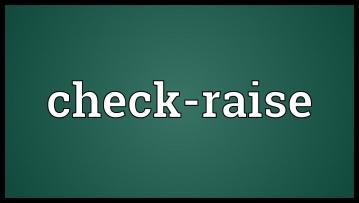 Trois situations où vous devriez check/raise plus souvent