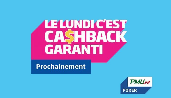 Ca$hback : Le nouveau programme de fidélité de PMU et Party Poker