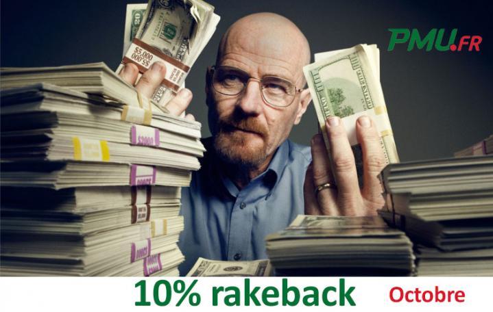 Promo extracash Poker Académie : gagnez 10% de rakeback en octobre sur PMU