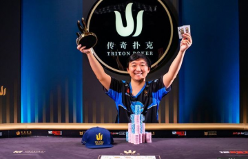 Le discret Rui Cao fait sauter la banque aux Triton Series
