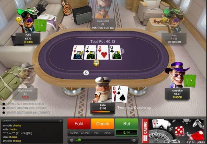 Le plan de fidélité Poker Académie sur Unibet Poker !