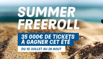 Summer freeroll sur PMU: 5000€ de tickets à gagner chaque mercredi !