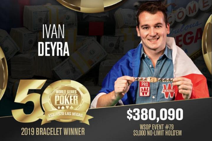 Le troisième bracelet tricolore de l'été pour Ivan Deyra