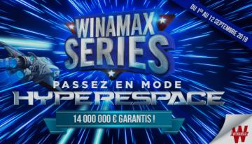 La rentrée sous le signe des millions avec les Winamax Series