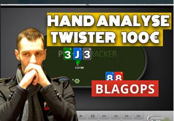 Review de mains en Twister 100€ - Part1