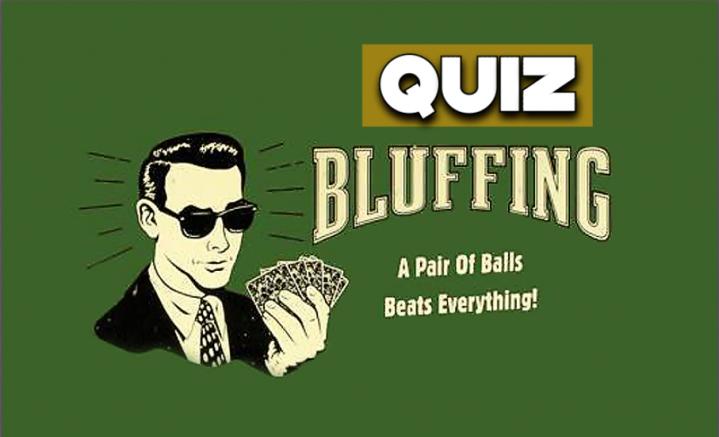 Quiz poker : Avez vous un bon bluffcatcher ?