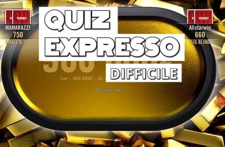 Quiz Expresso [difficile] : Avez-vous les bons réflexes ?