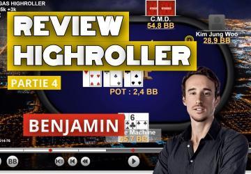 Benj review sa victoire du 500€ High Roller des Mini WSOP - Part4