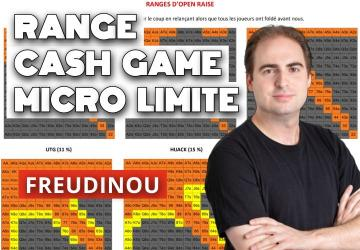 Nos tableaux des ranges en cash game (micros limites)