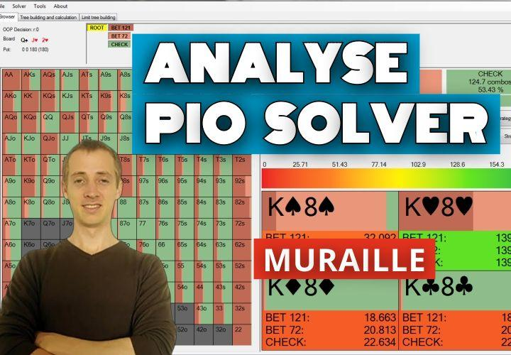 Analyse d'un spot BTN vs BB sur Pio Solver