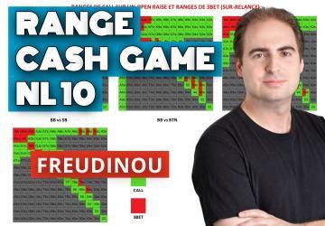 Tableaux des ranges en cash game NL10 - Vidéo explicative