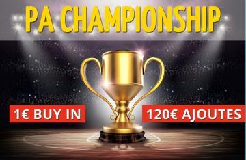 PA CHAMPIONSHIP - Event 2 (1€)