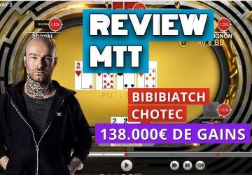 Bibibiatch et Chotec review des mains de la 2 Million Week