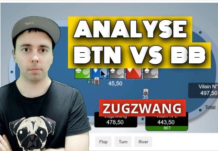 Spot de Zug n°1 : BTN vs BB - Action river après un cbet 1/3 range (1)