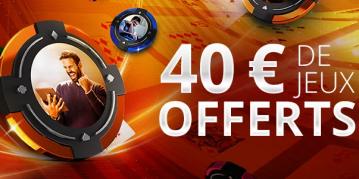 Nouvelle offre de bienvenue sur Party Poker : 40€ de tickets de SNG Jackpot