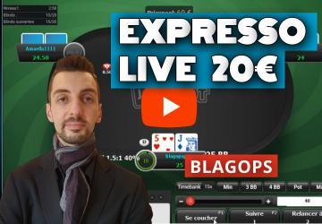 Blagops en live sur les SNG Jackpot 20€