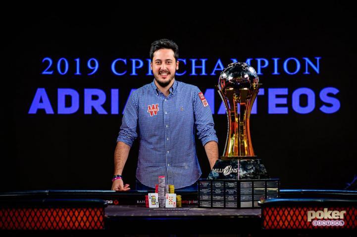 Party Poker Million Bahamas : Mateos de retour au premier plan !