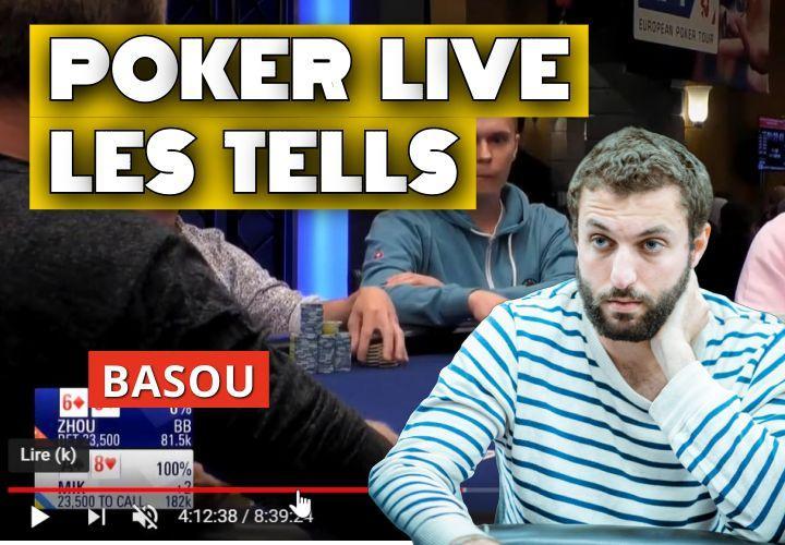 Les tells au poker