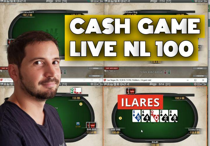 Ilares joue en live en NL100