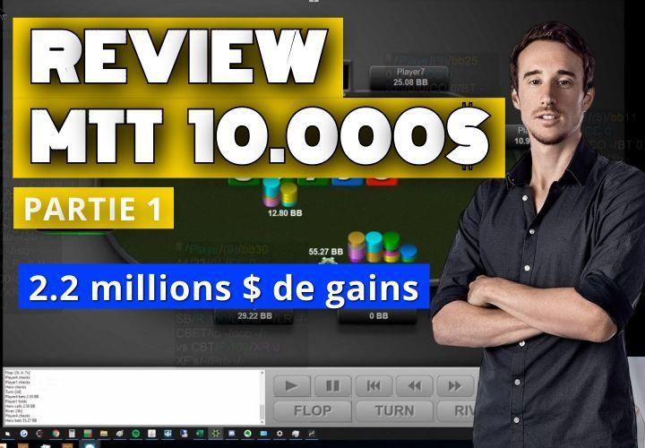 Benj review sa victoire à 2.2 millions de dollars ! (1)