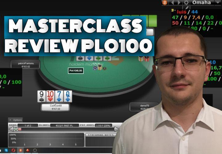 Comment travailler son jeu post session et analyse de 2 spots de PLO100