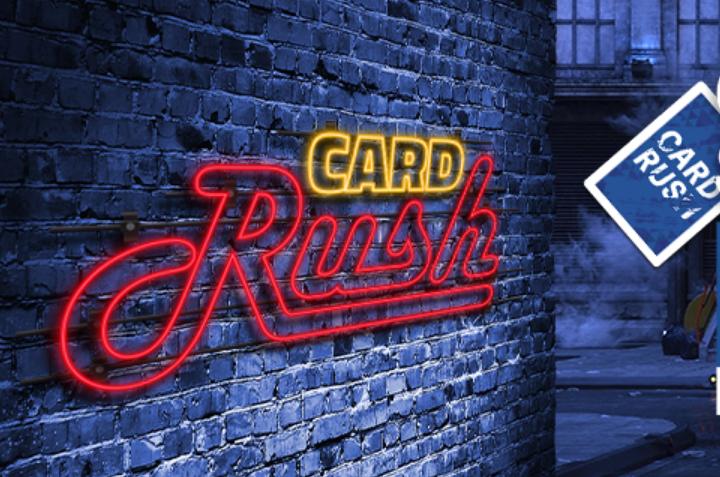 Card Rush de retour sur PMU Poker ! 100.000€ de dotation à gagner !