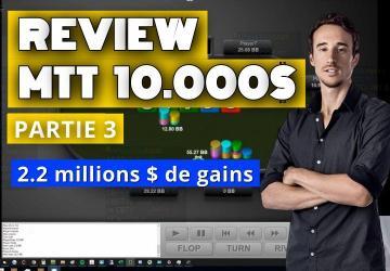 Benj review sa victoire à 2.2 millions de dollars ! (3)