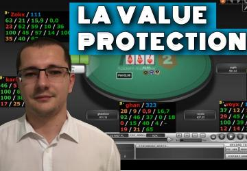 Le jeu post flop en PLO (1) - La value protection