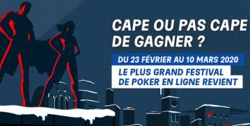 Powerfest 2020 : 3 500 000 € garantis sur PMU Poker !