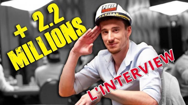 Mental de pro : L'interview PMS de Benj, l'homme qui valait 2 millions de dollars