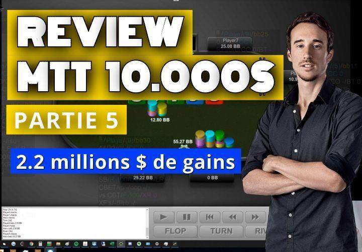 Benj review sa victoire à 2.2 millions de dollars ! (5)