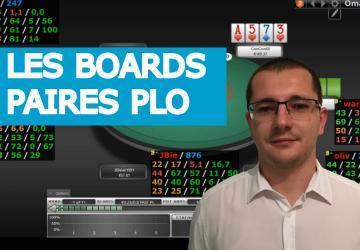 Les boards pairés en PLO