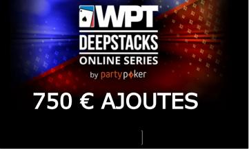 Satellite PA 1€ – WPT Main Event Online (750€ ajoutés)
