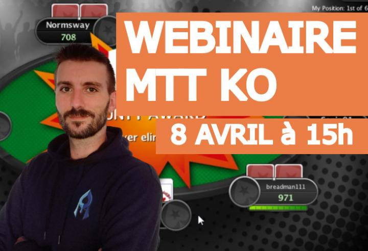 Webinaire MTT : Initiation aux tournois KO avec Sburnoz !