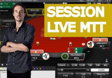 Replay : Benj joue en live des hauts buy-in (1)
