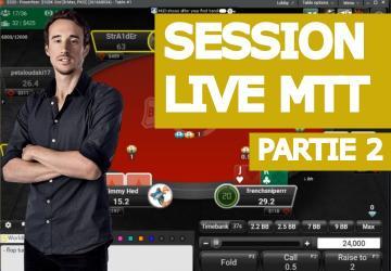 Replay : Benj joue en live des hauts buy-in (2)