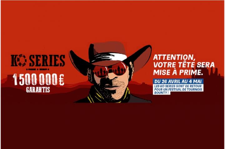 Les KO Séries de retour sur PMU Poker et Partypoker !